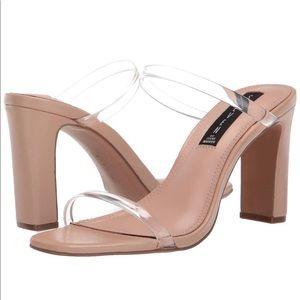 Steve Madden slide block heels